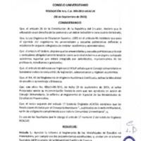 RESOLUCIÓN C.U. 263-2015-UCACUE