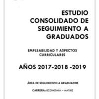 CARRERA DE ECONOMÍA