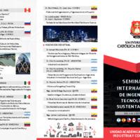 Seminario Internacional de Ingeniería, Tecnología y Sustentabilidad
