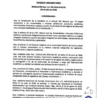 Resolución Nro. C.U. 554-2018-UCACUE
