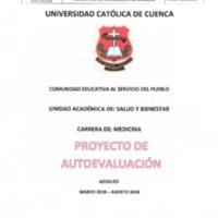 Proyecto de Autoevaluación de la Carrera de Medicina Sede Azogues
