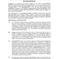 Contratación SCOPUS
