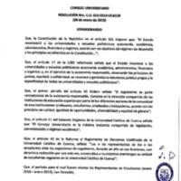 Resolución Nro. C.U. 610-2019-UCACUE