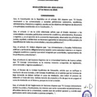 Resolución Nro. C.U. 624-2019-UCACUE