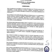 Resolución Nro. C.U. 639-2019-UCACUE