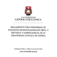 REGLAMENTO PROGRAMAS DE POSGRADO EN LINEA.PDF