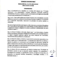 Resolución Nro. C.U. 574-2018-UCACUE