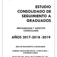 CARRERA DE EDUCACIÓN INICIAL