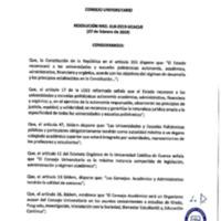 Resolución Nro. C.U. 618-2019-UCACUE