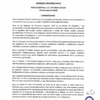 RESOLUCIÓN C.U. 347-2016-UCACUE