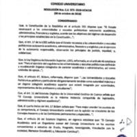 Resolución Nro. C.U. 573-2018-UCACUE