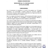 Resolución Nro. C.U. 540-2018-UCACUE