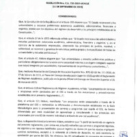 Resolución Nro. C.U. 739 -2019-UCACUE