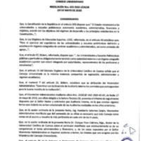 Resolución Nro. C.U. 653-2019-UCACUE