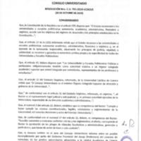 Resolución Nro. C.U. 791-2019-UCACUE