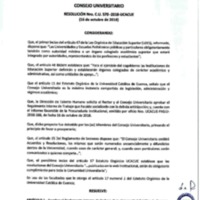 Resolución Nro. C.U. 570-2018-UCACUE<br /><br />