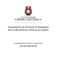 REGLAMENTO ESTUDIOS DE POSGRADO.PDF