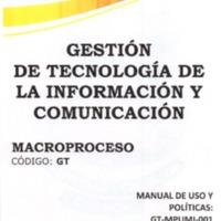 Manual de Uso y Políticas del Servicio de Mensajería Interna