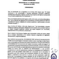 Resolución Nro. C.U. 608-2019-UCACUE
