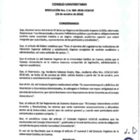 Resolución Nro. C.U. 569-2018-UCACUE<br /><br />