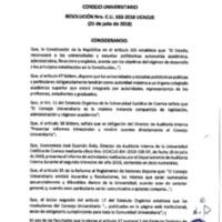 Resolución Nro. C.U. 550-2018-UCACUE