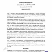 RESOLUCIÓN C.U. 097-2014-UCACUE