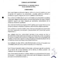 RESOLUCIÓN C.U. 283-2015-UCACUE