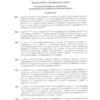 Reforma a los Lineamientos de Autoevaluación de las IES