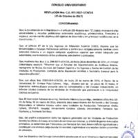 Resolución C.U. 473-2017 - UCACUE