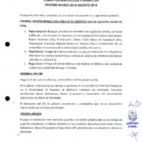 Cobro por Matriculas y Aranceles período 2019-agosto 2019