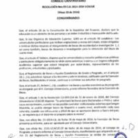 RESOLUCIÓN C.U. 055-2014-UCACUE
