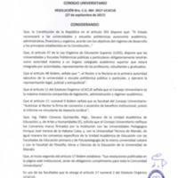 Resolución C.U. 464-2017 - UCACUE