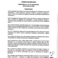 Resolución Nro. C.U. 576-2018-UCACUE