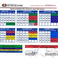 Agenda Académica julio 2018 - diciembre 2018 - Maestría en Administración de Empresas - I y II cohorte