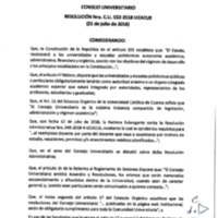 Resolución Nro. C.U. 552-2018-UCACUE