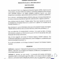 RESOLUCIÓN C.U. 051-2014-UCACUE
