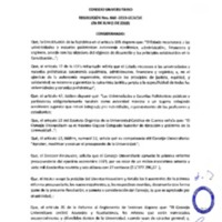 Resolución Nro. C.U. 668-2019-UCACUE