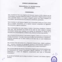 RESOLUCIÓN C.U. 165-2015-UCACUE