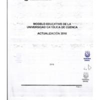 Actualización Modelo Educativo