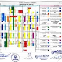Calendario Académico - La Troncal - Octubre 2018 - Marzo 2019