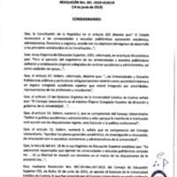 Resolución Nro. C.U. 661-2019-UCACUE<br /><br />