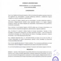 RESOLUCIÓN C.U. 317-2016-UCACUE