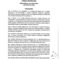 Resolución Nro. C.U. 651-2019-UCACUE