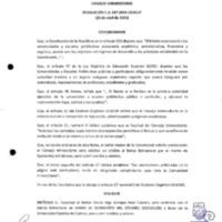 RESOLUCIÓN C.U. 167-2015-UCACUE