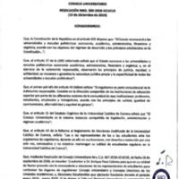 Resolución Nro. C.U. 599-2018-UCACUE