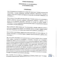 Resolución Nro. C.U. 731-2019-UCACUE<br /><br />