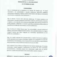 Resolución Nro. C.U. 732 -2019-UCACUE