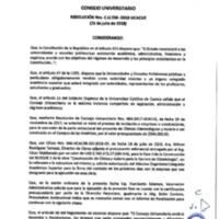 Resolución Nro. C.U. 556-2018-UCACUE