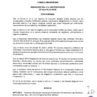 Resolución Nro. C.U. 544-2018-UCACUE