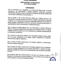 Resolución Nro. C.U. 619-2019-UCACUE